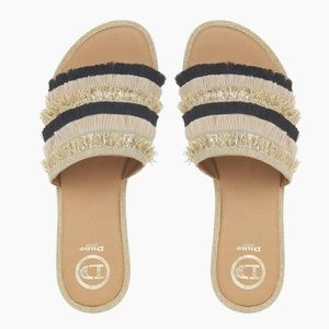 Dune Lemonade Mule Sandals Size 39